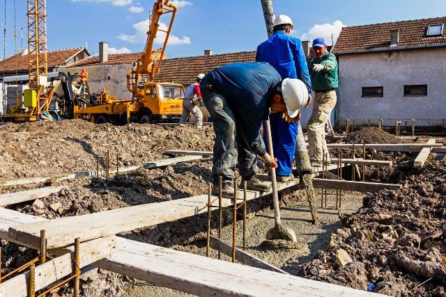 prace betoniarskie